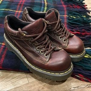 Doc Dr. Martens Brown Leather Oxford Shoes N19-1